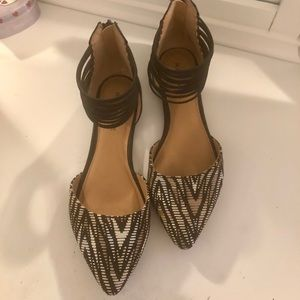 Rampage Pointy Toe Flats